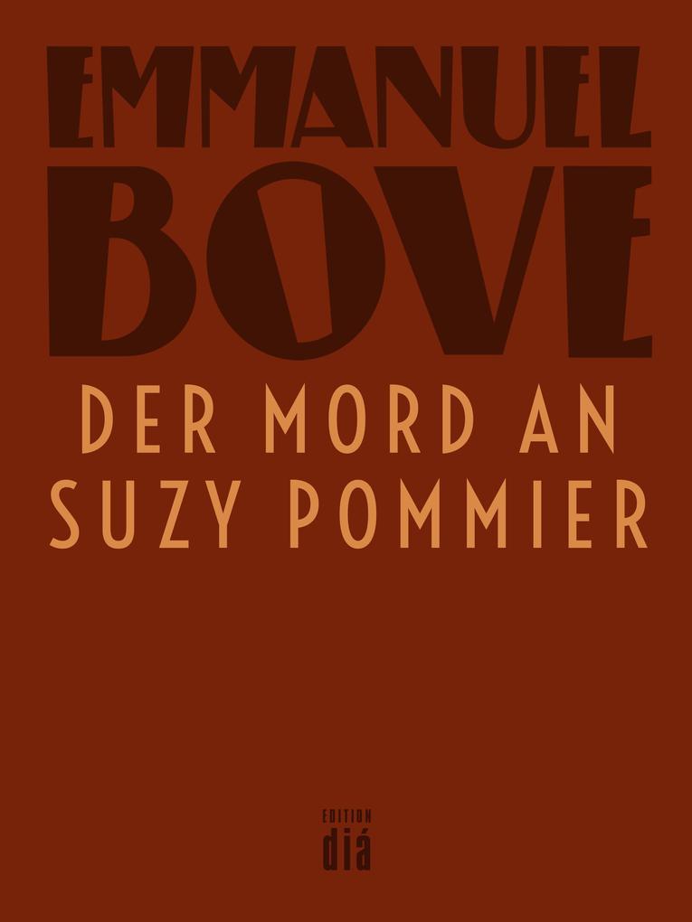 Der Mord an Suzy Pommier als eBook