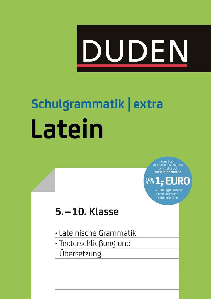 Duden Schulgrammatik extra - Latein als eBook