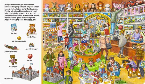 Sachen suchen - Frohe Weihnachten (Buch), Susanne Gernhäuser, Anne Suess