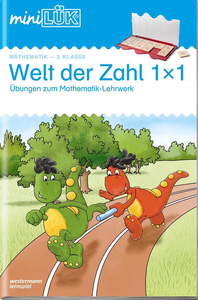 miniLÜK Welt der Zahl 1x1 2. Kl. als Buch von