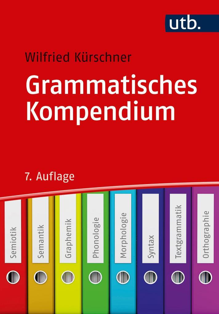 Grammatisches Kompendium als Taschenbuch