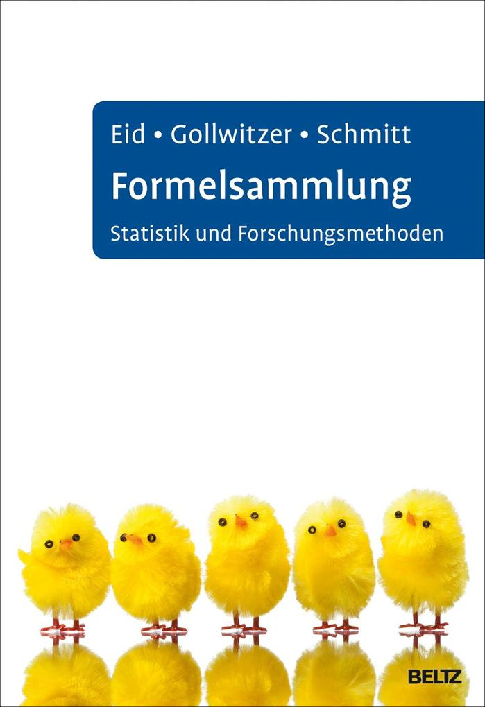 Formelsammlung Statistik und Forschungsmethoden als Buch