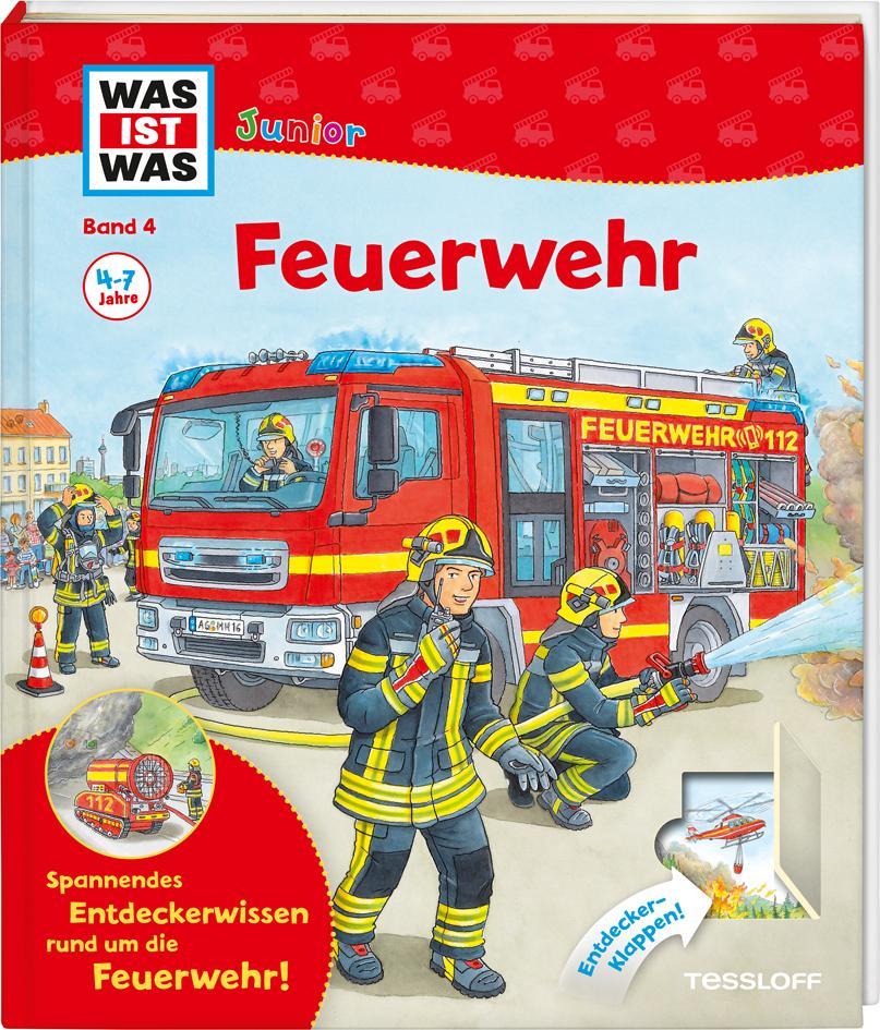 WAS IST WAS Junior Band 4. Feuerwehr als Buch von Christina Braun