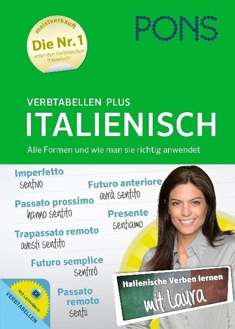 PONS Verbtabellen Plus Italienisch als Buch
