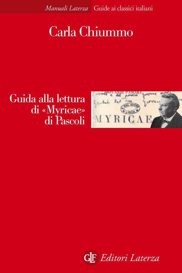 Guida alla lettura di «Myricae» di Pascoli als eBook von Carla Chiummo