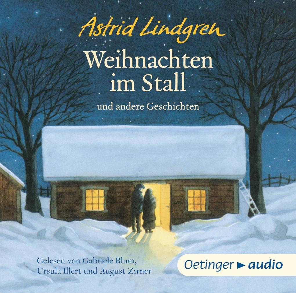 Weihnachten im Stall und andere Geschichten (CD) als Hörbuch