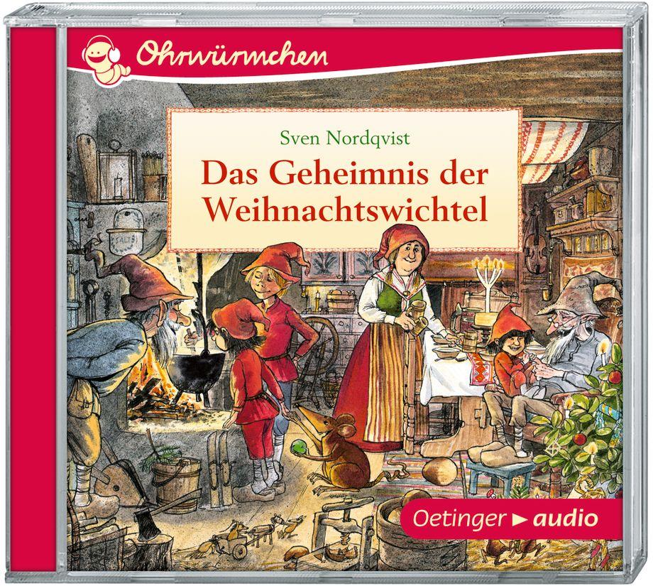 Ohrwürmchen Weihnachtswichtel im Winterwald CD als Hörbuch