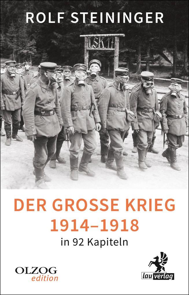 Der Große Krieg 1914-1918 in 92 Kapiteln als eBook epub