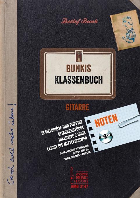 Bunkis Klassenbuch mit CD