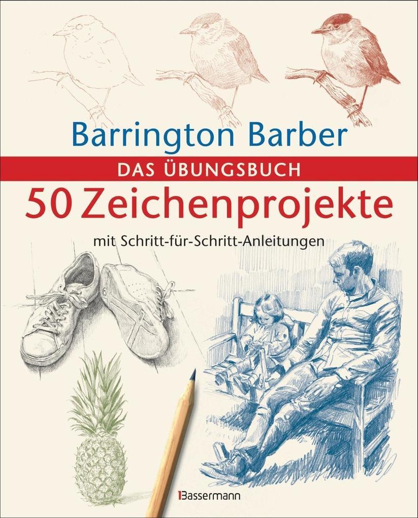 50 Zeichenprojekte mit Schritt-für-Schritt-Anleitungen als Buch