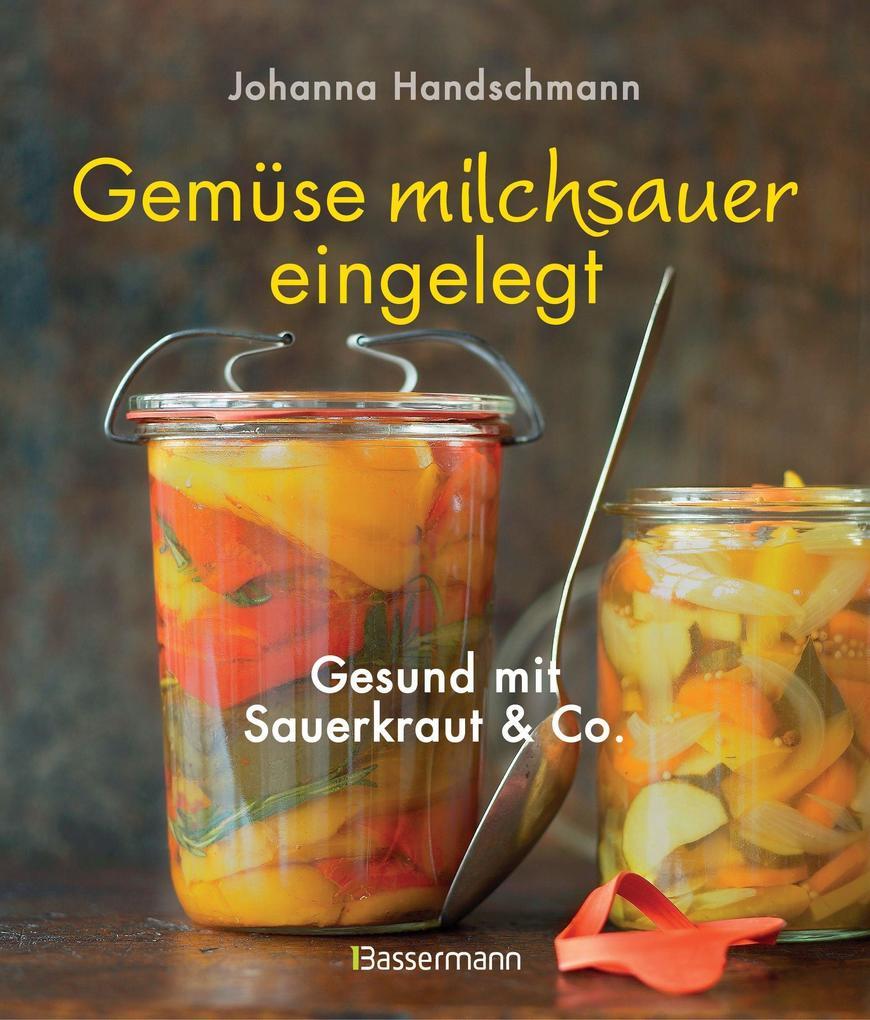 Gemüse milchsauer eingelegt als Buch