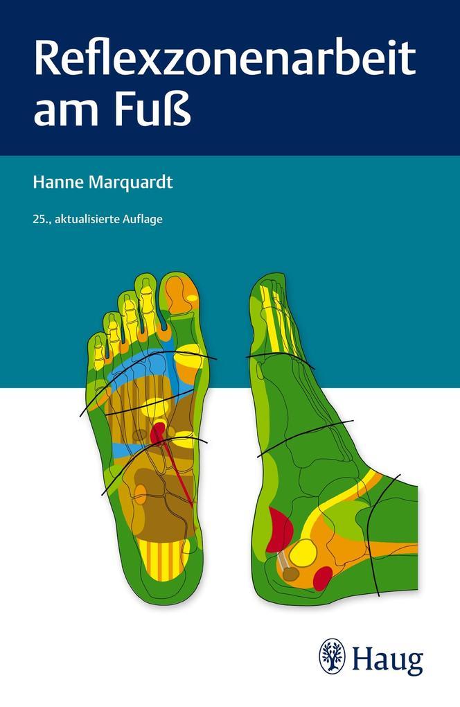 Reflexzonenarbeit am Fuß als Buch