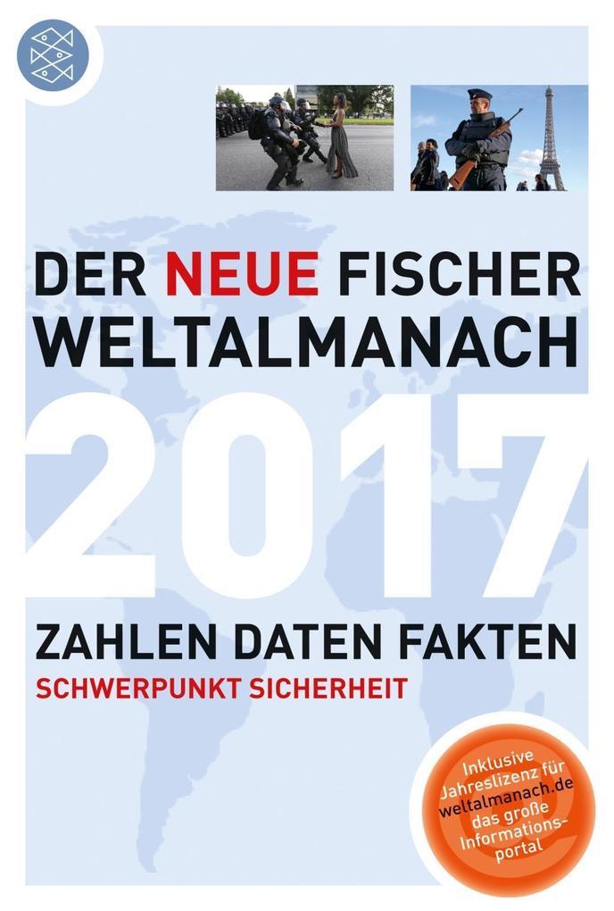 Der neue Fischer Weltalmanach 2017 als Taschenbuch