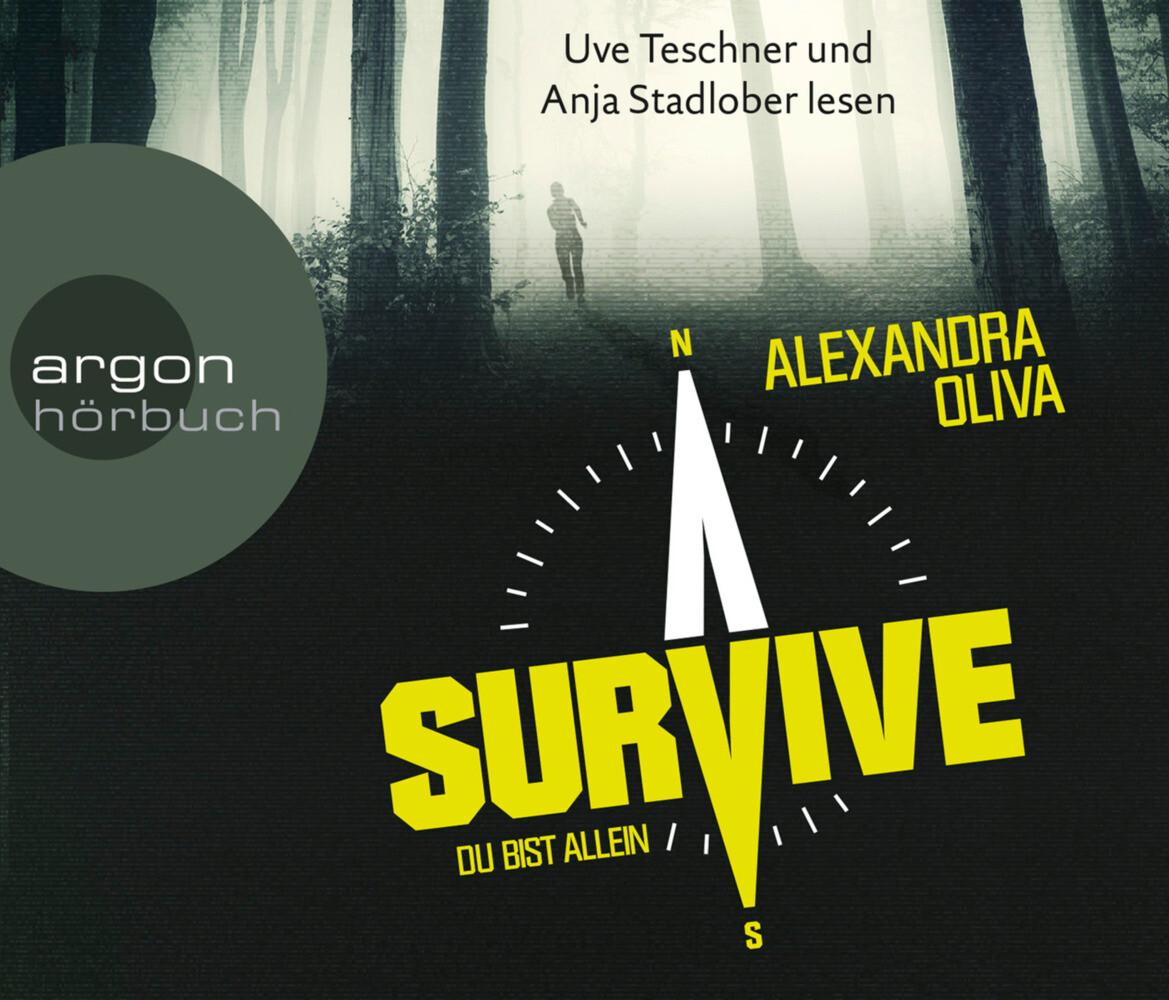 Survive - Du bist allein als Hörbuch