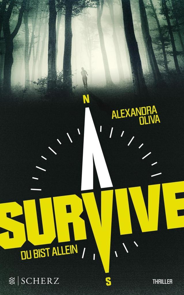 Survive - Du bist allein als Buch