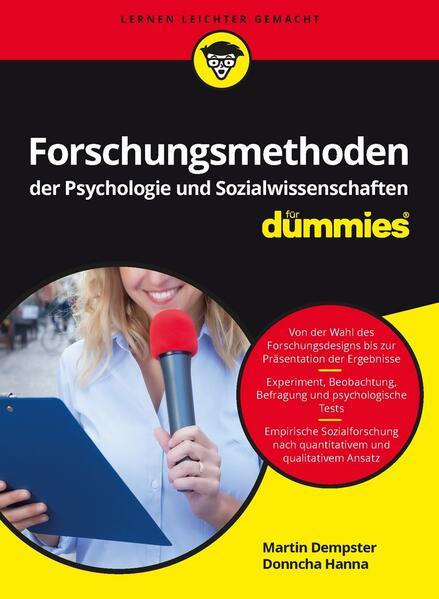 Forschungsmethoden der Psychologie und Sozialwissenschaften für Dummies als Buch von Martin Dempster, Donncha Hanna