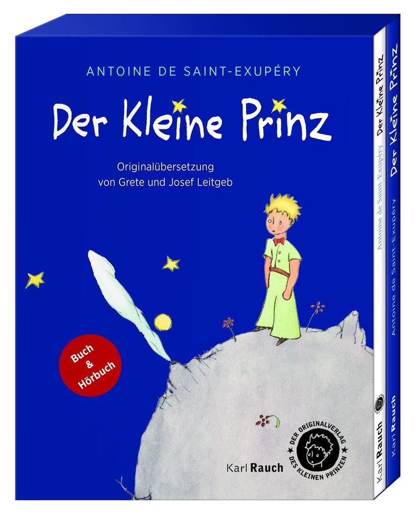 Der Kleine Prinz. Geschenkbox als Taschenbuch von Antoine de Saint-Exupéry