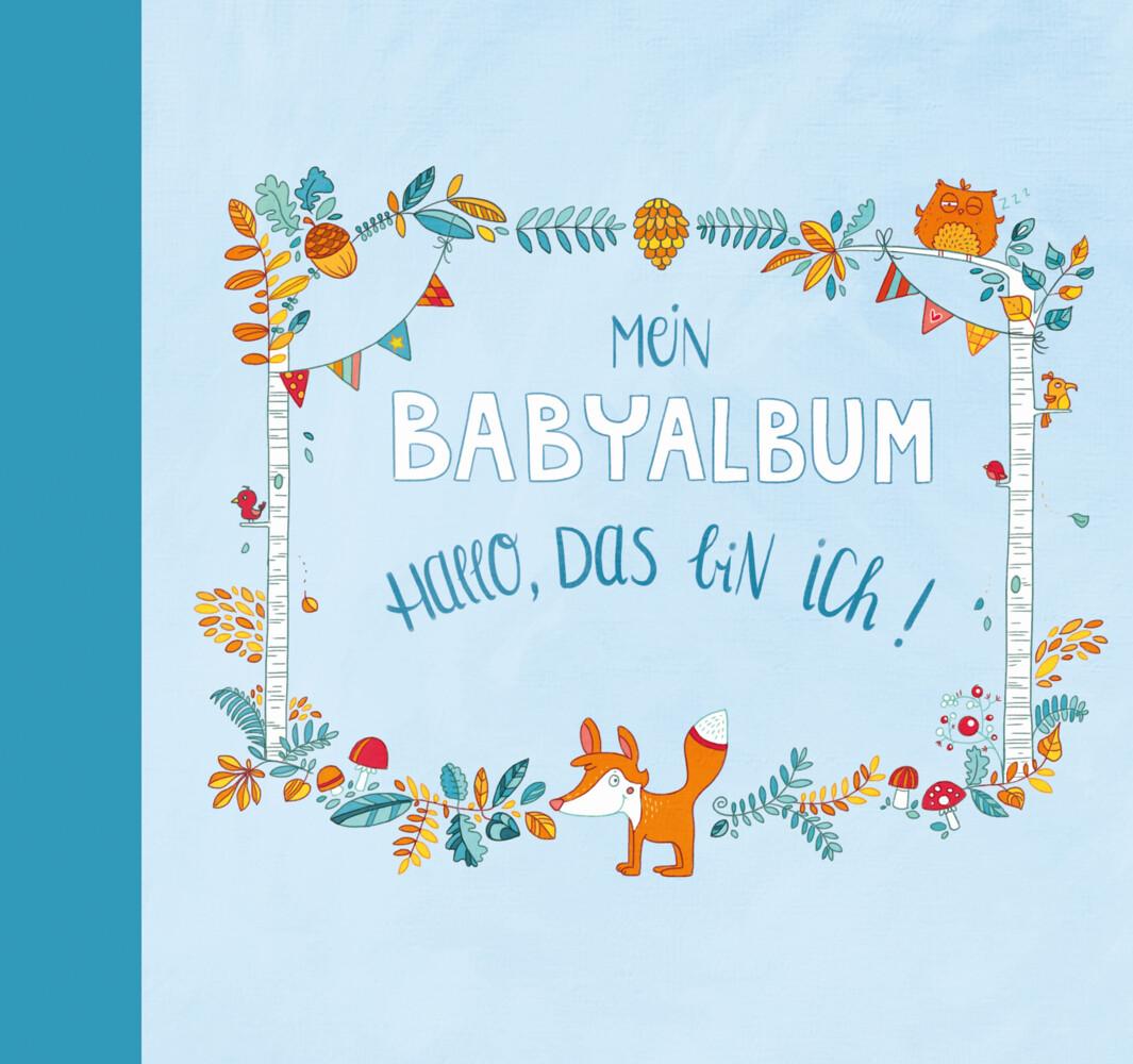 Mein Babyalbum - Hallo, das bin ich! (Jungen) als Buch von Anna Taube