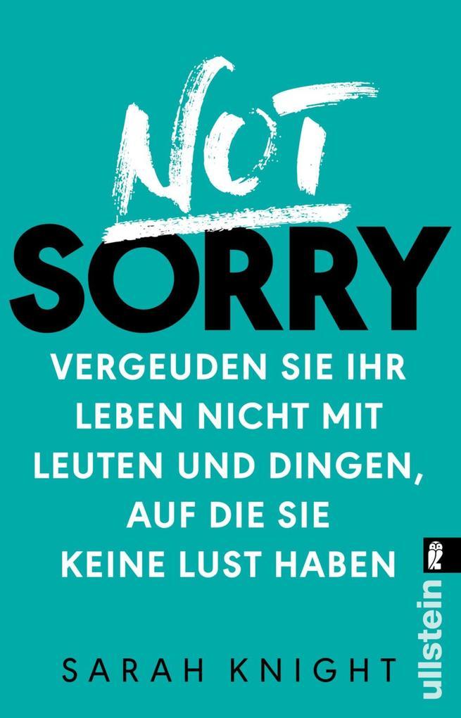 Not Sorry als eBook