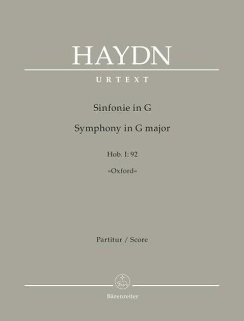 Sinfonie G-Dur Hob. I:92 Oxford