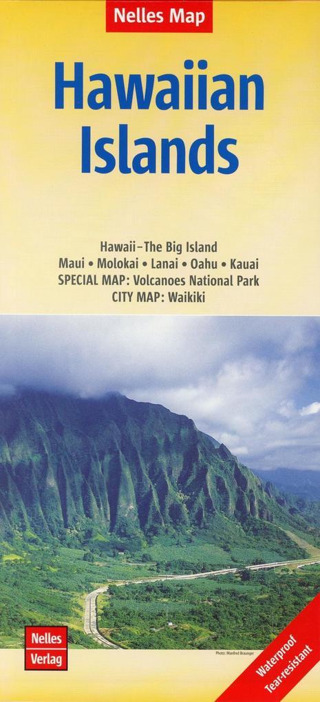 Nelles Map Hawaiian Islands 1 :150 000/1 : 330 000