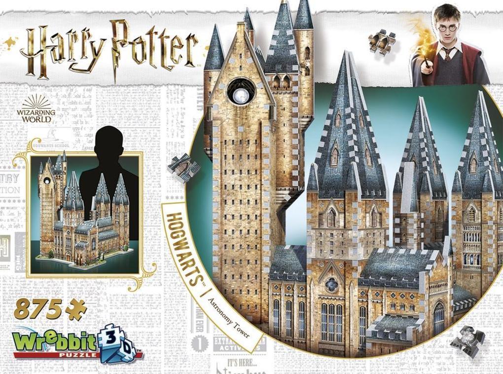 3D Puzzles Harry Potter Hogwarts Große Halle 3D-Puzzle 850 Teile Spiel Harry Potter Deutsch