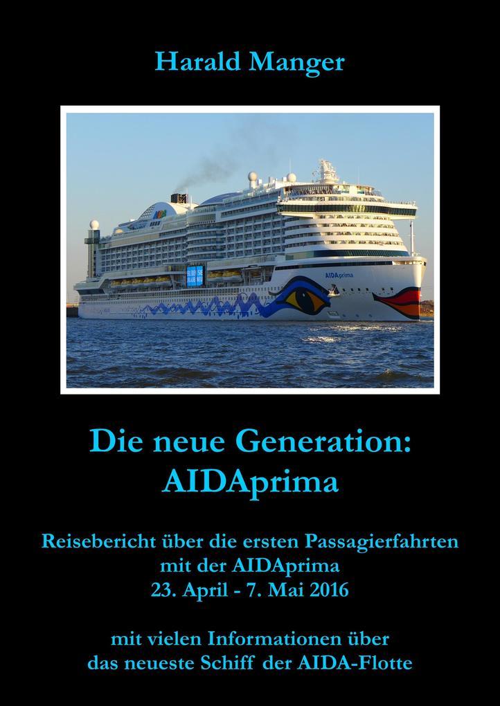 Die neue Generation: AIDAprima als eBook