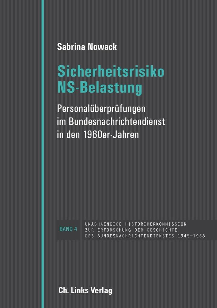 Sicherheitsrisiko NS-Belastung als Buch