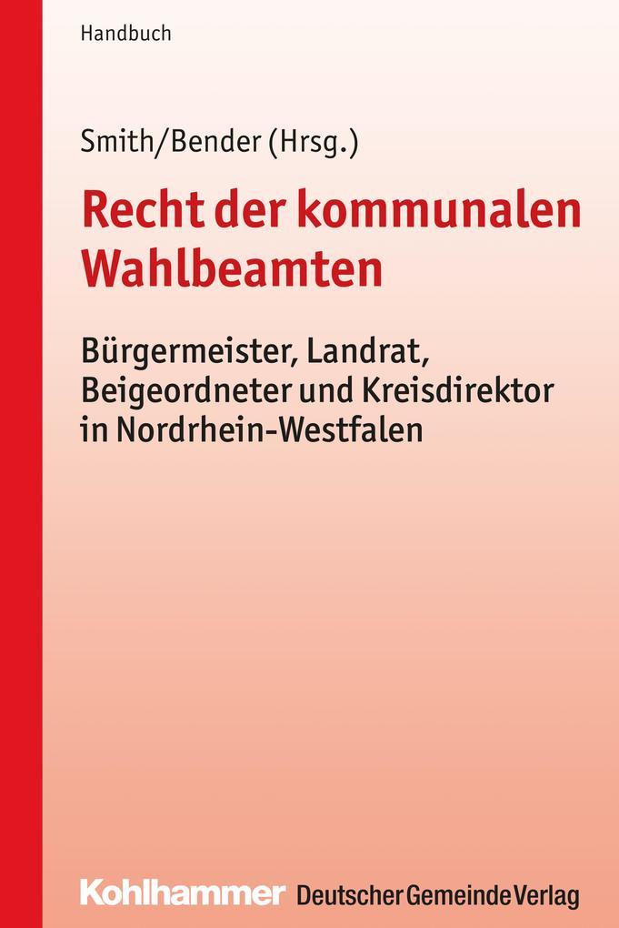 Recht der kommunalen Wahlbeamten als eBook