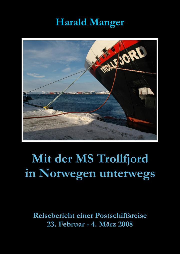Mit der MS Trollfjord in Norwegen unterwegs als eBook
