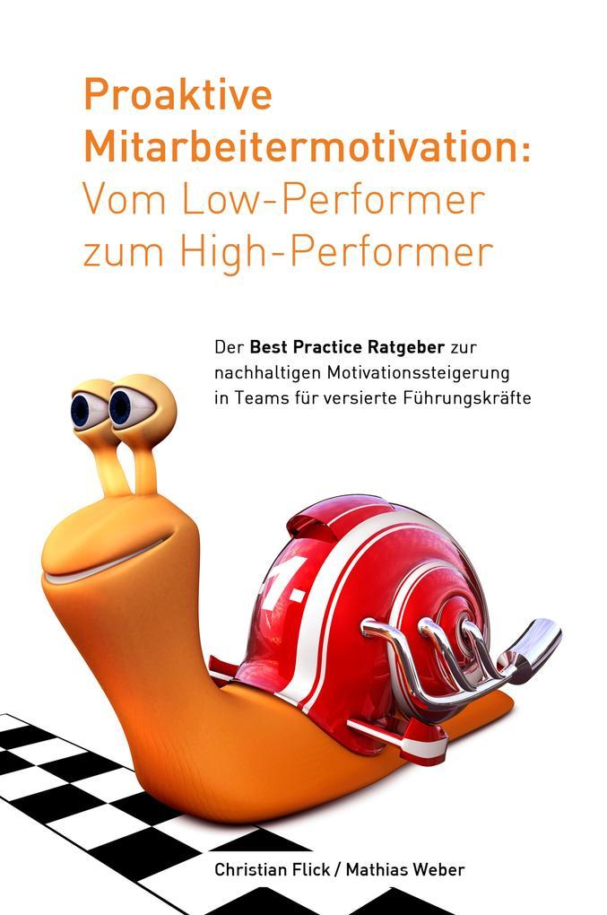 Proaktive Mitarbeitermotivation: Vom Low-Performer zum High-Performer als eBook