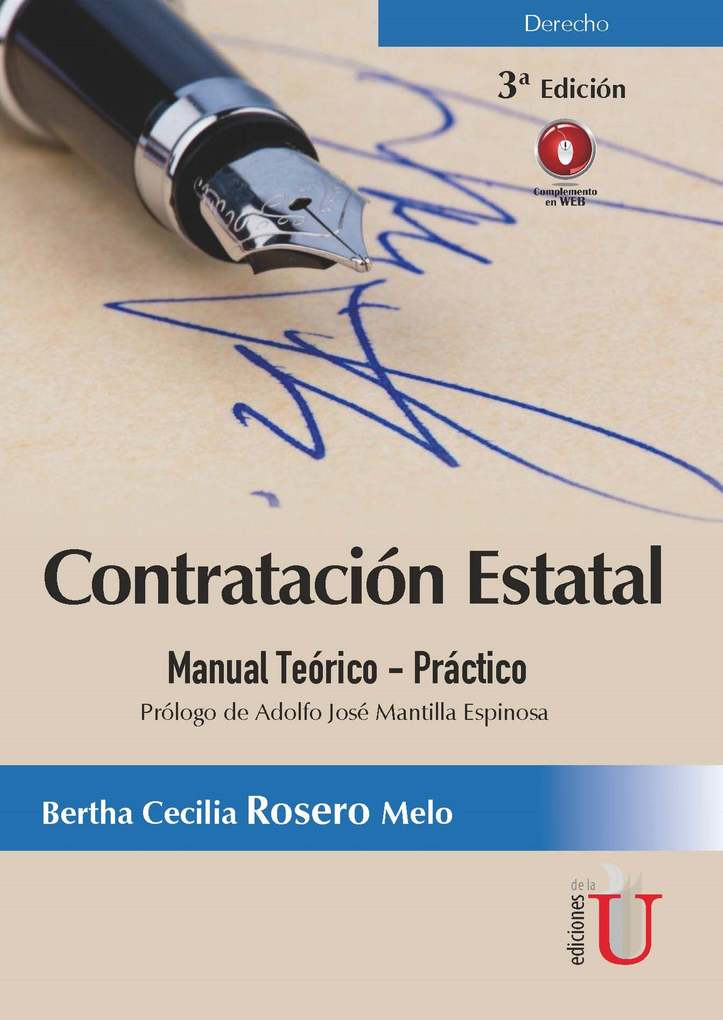 Contratación Estatal als eBook von Bertha Cecilia Rosero - Ediciones de la U