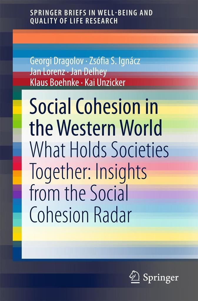 Social Cohesion in the Western World als eBook ...