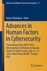 Advances in Human Factors in Cybersecurity