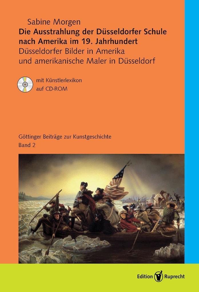 Die Ausstrahlung der Düsseldorfer Schule nach Amerika im 19. Jahrhundert als eBook