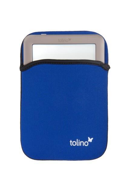 Tolino Neoprene Tasche Universal - Blau
