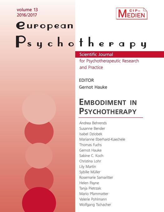 European Psychotherapy 2016/2017 als Buch