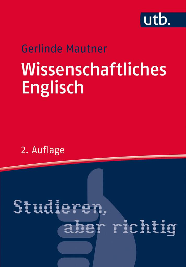 Wissenschaftliches Englisch als eBook