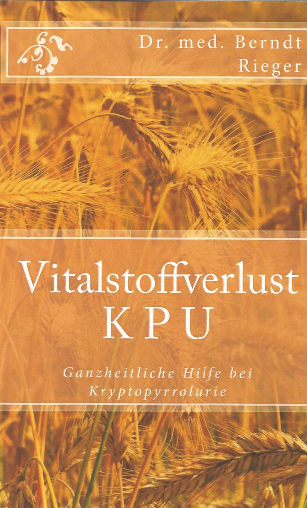 Vitalstoffverlust KPU als eBook