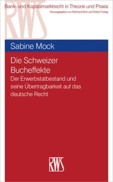 Die Schweizer Bucheffekte als Buch