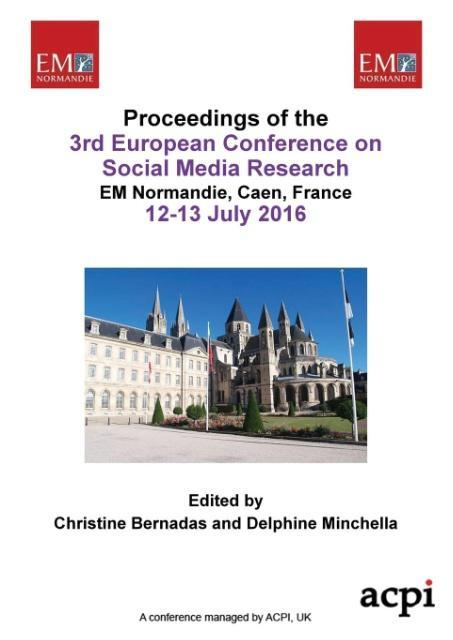 ESCM 2016 Proceedings of The 3rd European Confe...