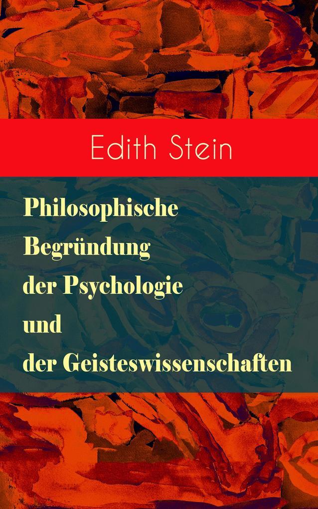 Philosophische Begründung der Psychologie und der Geisteswissenschaften als eBook