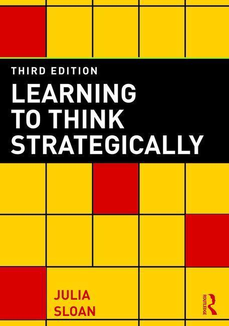 Learning to Think Strategically als Buch von Julia Sloan