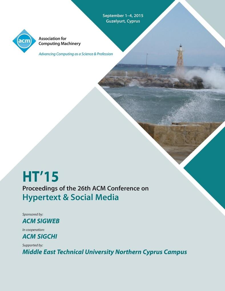 HT 15 26th ACM Conference on Hypertext and Soci...