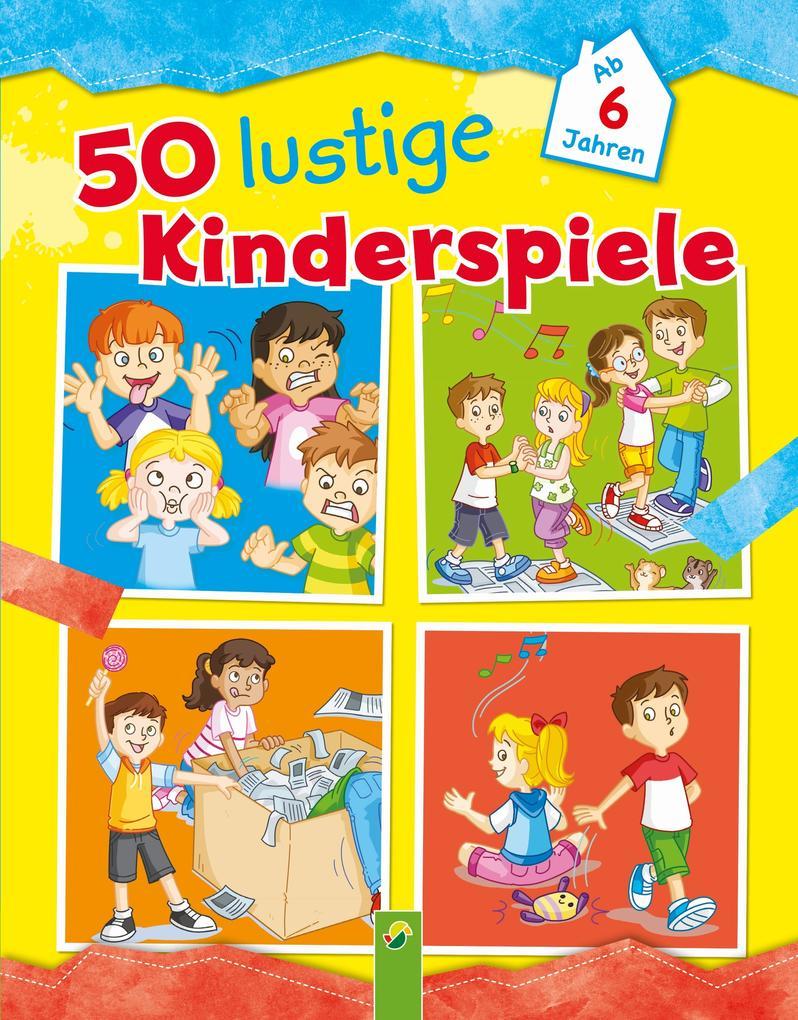 50 lustige Kinderspiele als eBook