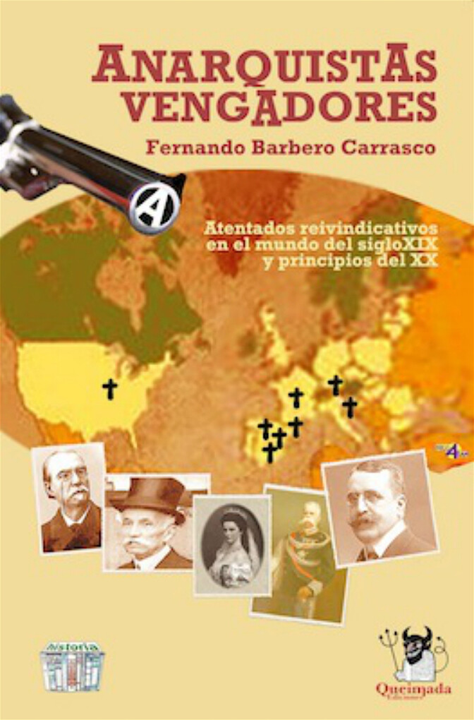 Anarquistas Vengadores als eBook von Fernando Barbero - Queimada Ediciones