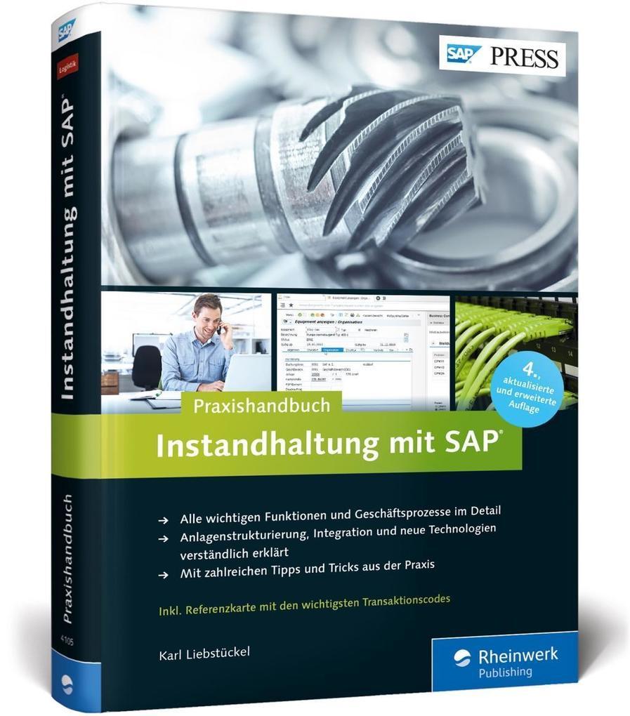Instandhaltung mit SAP als Buch