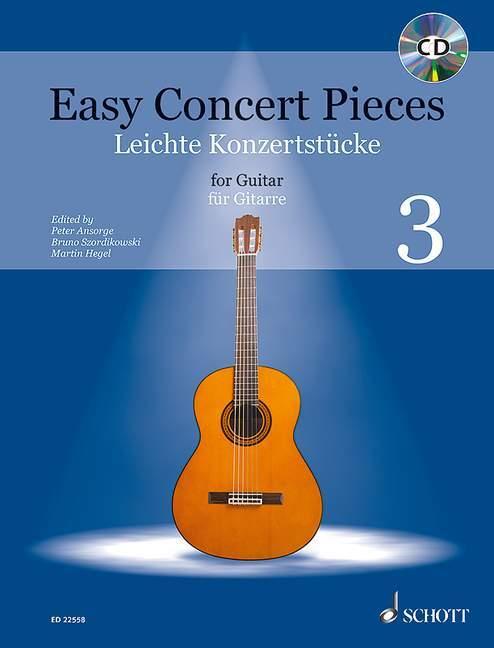 Easy Concert Pieces. Gitarre Band 3. Ausgabe mit CD