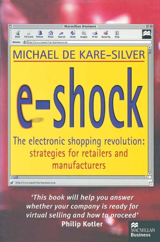 E-Shock als eBook von Michael De Kare-Silver