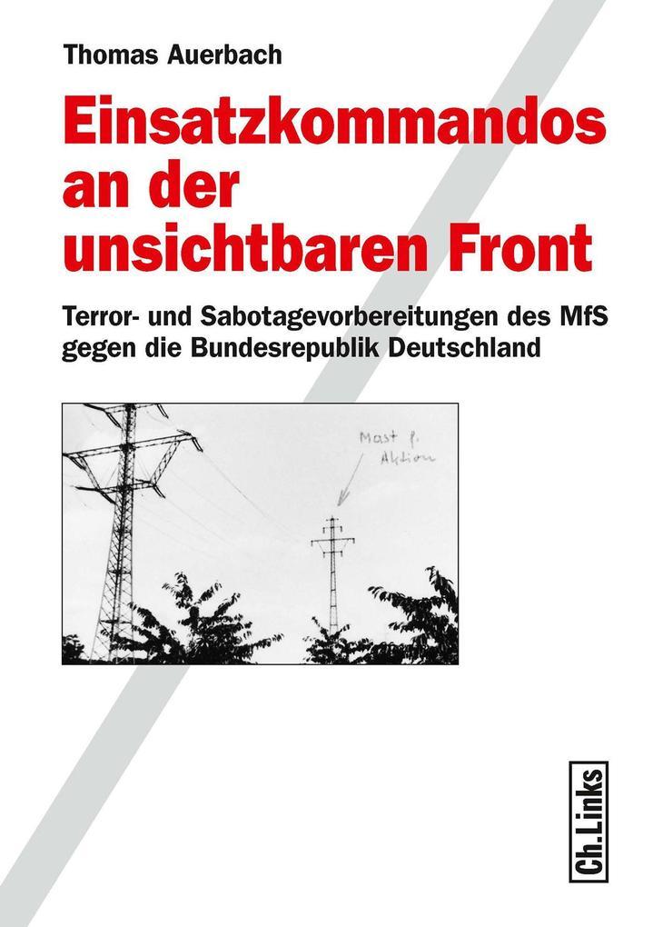 Einsatzkommandos an der unsichtbaren Front als eBook